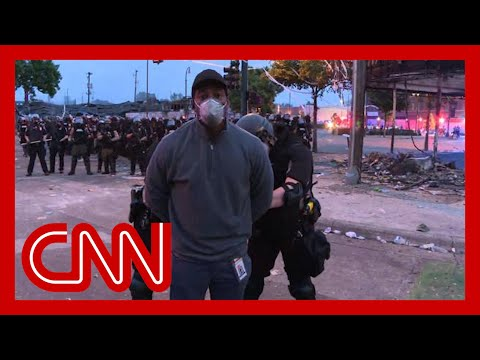 Police Arrest CNN Correspondent Omar Jimenez And Crew On Live Television