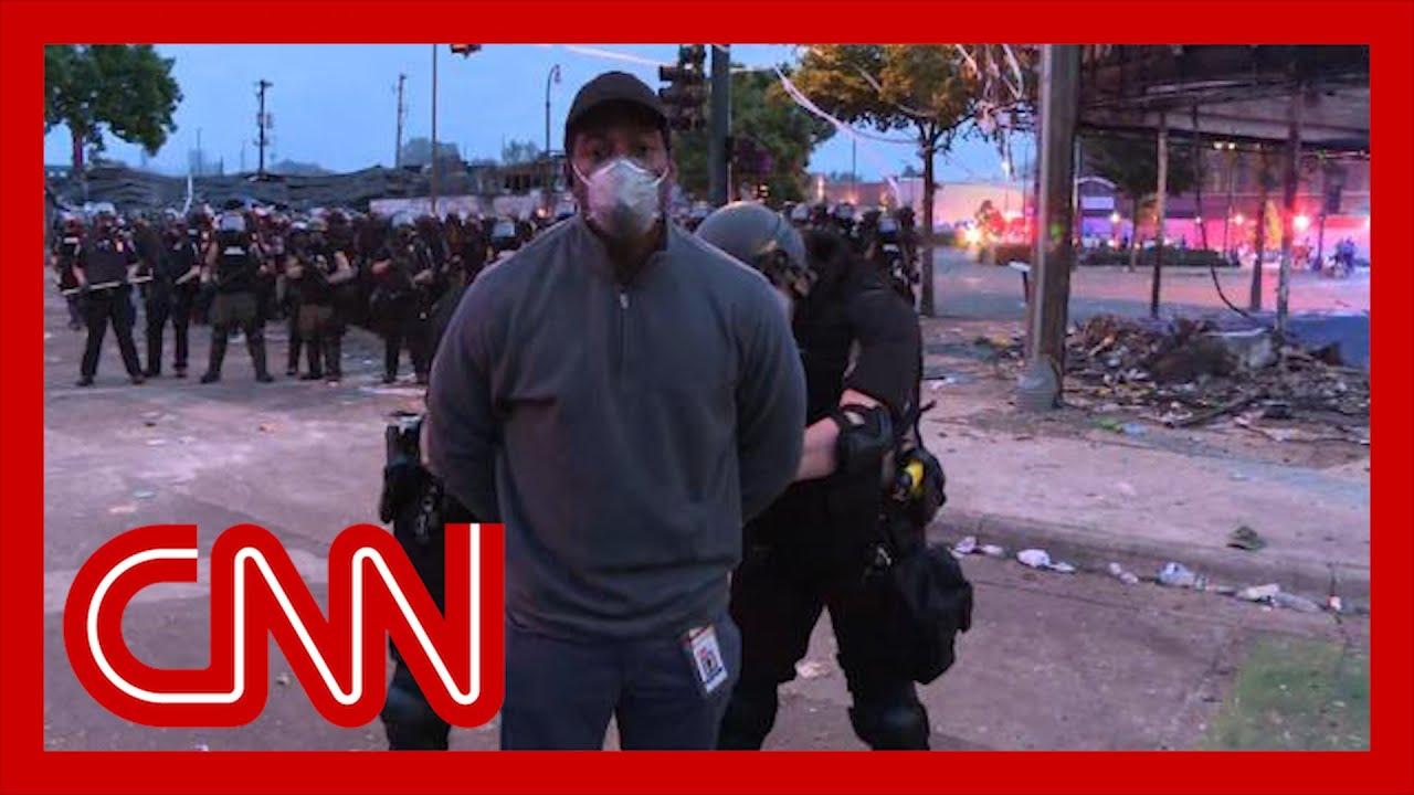 Репортёры CNN были арестованы во время освещения протестов в Миннеаполисе