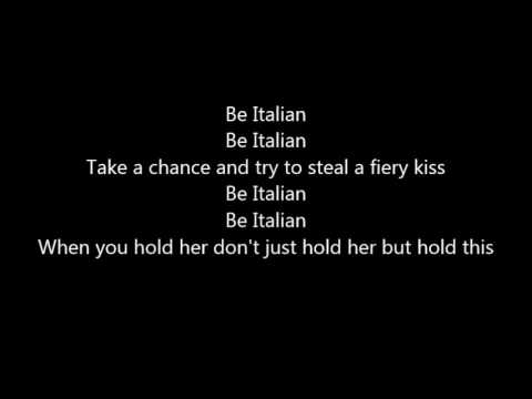 Be Italian - Male version - Karaoke