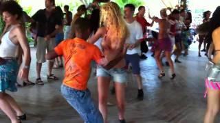 Dancing in Porto Seguro