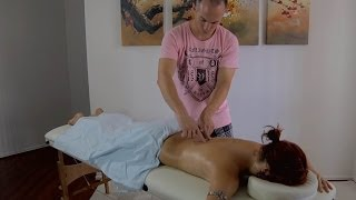 Gentle Massage, Light Touching the Back & Reiki Hand Healing ASMR Role Play