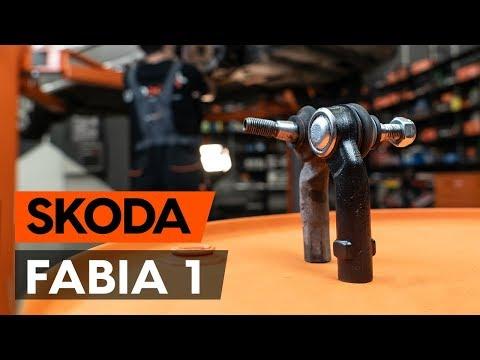 Как заменить наконечники поперечной рулевой тяги на SKODA FABIA 1 (6Y5) [ВИДЕОУРОК AUTODOC]