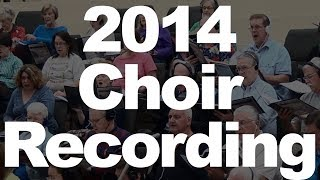 2014 Choir Album Recording