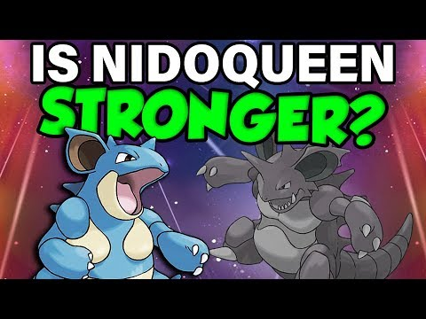 Nidoqueen is ACTUALLY Better Than Nidoking In Pokemon Let's Go?