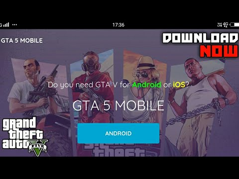 GTA V Android– GTA 5 Mobile– Download GTA V On Android (IOS/Android)