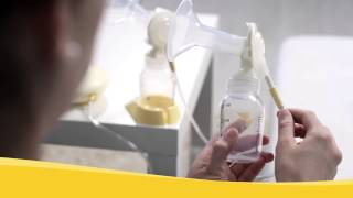 Pumping with Medela Swing maxi breastpump (English)