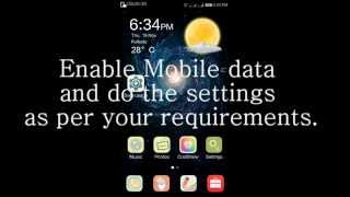 How to set mobile data usage on coolpad note 3