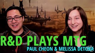 Magic | R&D Plays MTG - Melissa DeTora & Paul Cheon