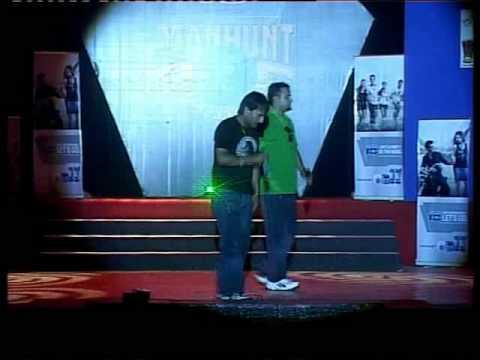 Mohit Munal & Bibek Pokhrel Performe In Manhunt Int Nepal 2011.mp4