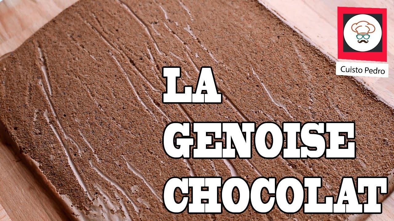 génoise chocolat facile et rapide - thermomix tm5 - youtube