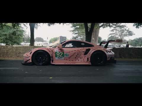The 'Pink Pig': a Porsche Le Mans legend visits Goodwood Festival of Speed 2018