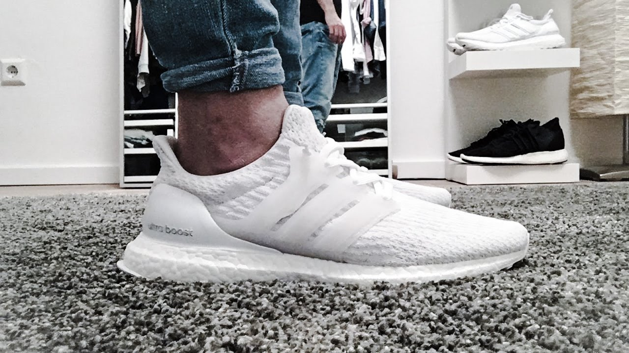 adidas ultra boost 3.0 mens white