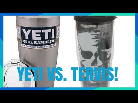 YETI VS TERVIS TRAVEL CUP BATTLE!