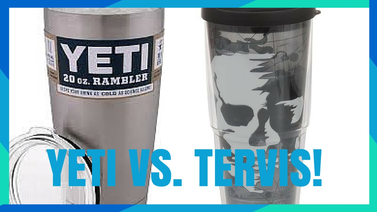 91052ebdae3 Ultimate Travel Cup Review Showdown: Yeti vs. Tervis - Video