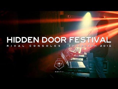 Rival Consoles - Hidden Door Festival - Edinburgh 2016