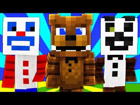 FNAF World - FREDDY FAZBEAR! (Minecraft Roleplay) Night 24