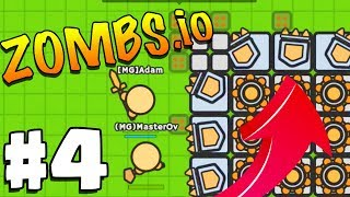 WORLD'S HARDEST *MELEE* ONLY CHALLENGE..!!! | Zombs.io | Zombs.io Gameplay Part 4