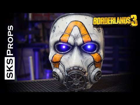 SKS Props builds a Psycho Mask from Borderlands 3