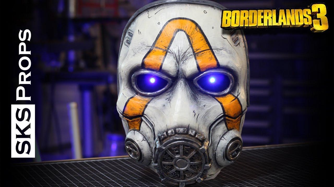 Psycho mask Borderlands