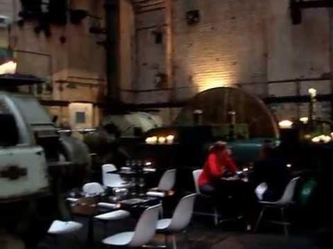 WAPPING PROJECT LONDON- good eats in a old power station