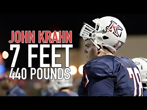 7-foot, 440 pounds: Largest football player still in high school