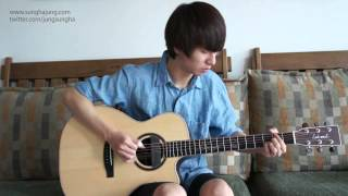 "Sungha http://www.sunghajung.com arranged and played ""Misery"" by Ma..."