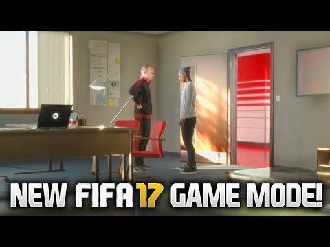 NEW FIFA 17 GAMEMODE! 'THE JOURNEY' STORY MODE!