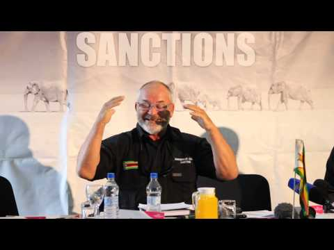 Gary Smith Zimbabwe Against Sanctions. Video: Watson Ofumeli