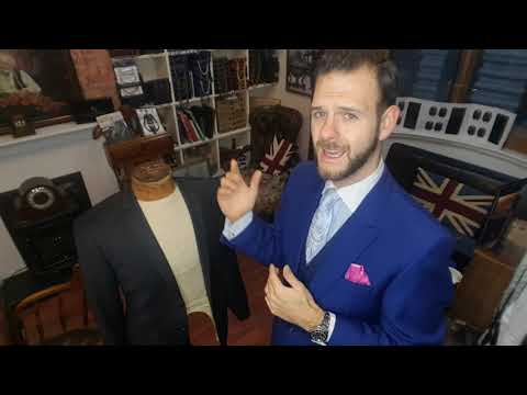 TIGER OF SWEDEN SUIT REVIEW BY TAILOR, MICHAEL TALKS ABOUT CONSTRUCTION AND FABRIC