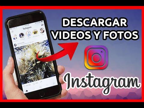 ✔️ Cómo DESCARGAR VIDEOS y FOTOS DE INSTAGRAM 2021🎯