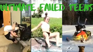 The Ultimate Teen Fail Compilation   Funny Fails   bet you can't control your laugh lol