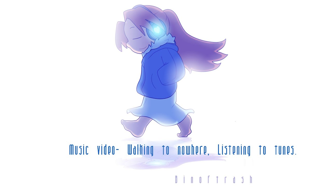 Walking To Nowhere Listening To Tunes Animated Music Video Youtube