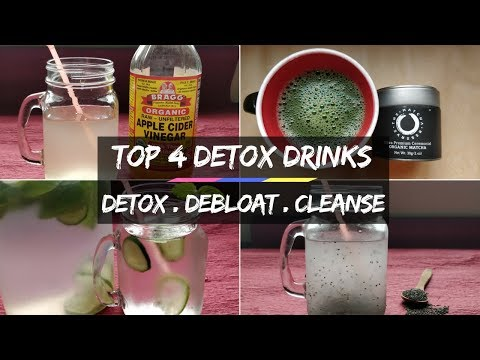 4-detox-drinks-for-weight-loss-|-detox,-debloat,-cleanse-|-thehungrygypsy