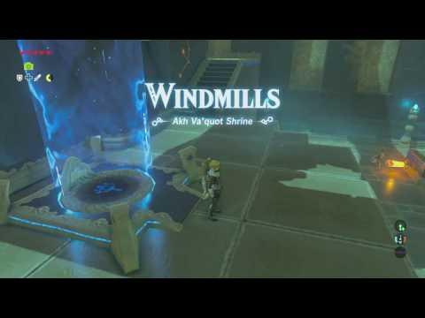 The Legend of Zelda: Breath of the Wild - Akh Va'quot Shrine