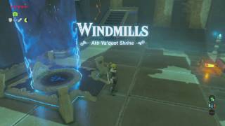 The Legend Of Zelda: Breath Of The Wild - Akh Va'quot Shrine