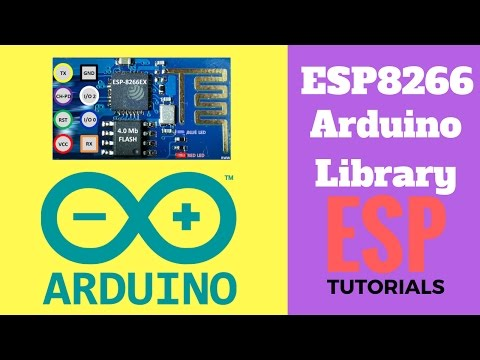 ESP8266 Library For Arduino IDE - Installation  Steps | Myelectronicslab.com