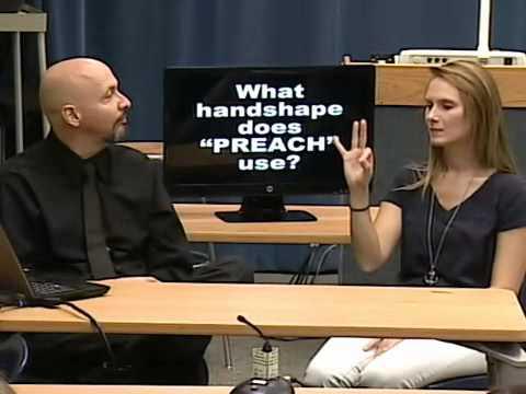 American Sign Language (ASL) Linguistics (Part 02)