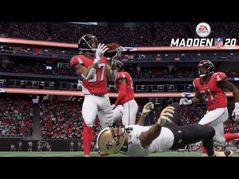 Madden 20 Online Gameplay (Atlanta Falcons Vs New Orleans Saints)