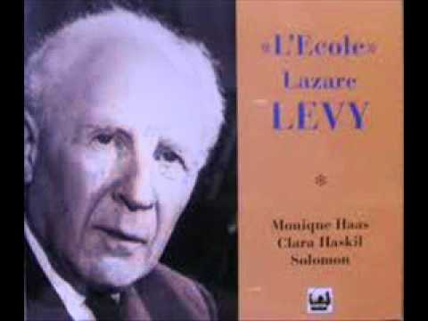 Lazare-Levy plays Chabrier Idylle