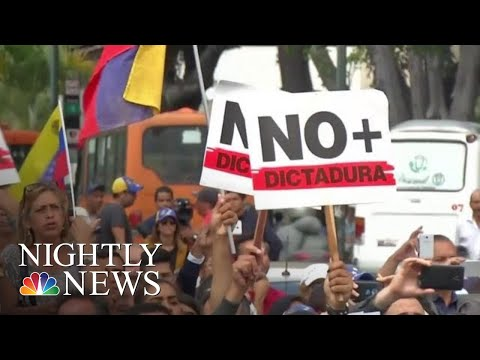 Protests In Venezuela Call For Maduro's Ouster As U.S. Backs Opposition | NBC Nightly News Mp3
