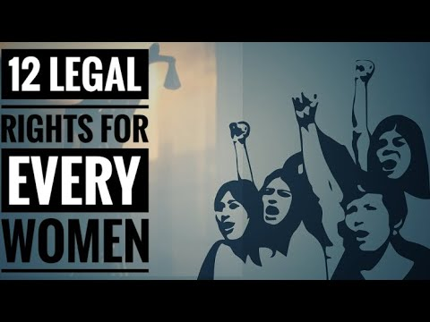 12 Important Legal Rights For Women That Every Indian Needs To Know.