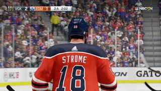 NHL™ 18 GAMEPLAY GOLDEN KNIGHTS - OILERS