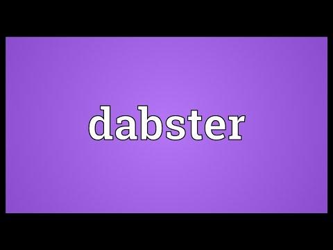 Header of dabster