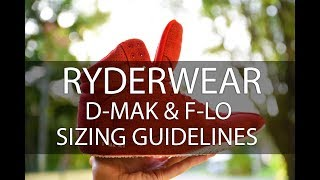 Ultimate lifting shoes- Ryderwear D-Mak & F-Lo shoe sizing guide