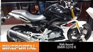 BMW G310 R Walkaround at Auto Expo 2016 - Bikeportal