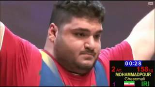 2017 World Junior Weightlifting +105 kg A