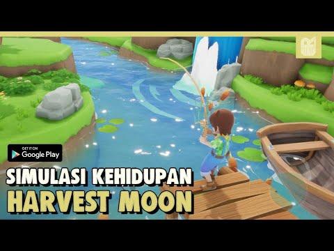 Cara Bermain Game Harvest Moon A Wonderful Life Ps2 Di Android + Settingan Nya | Dolphin Emulator.