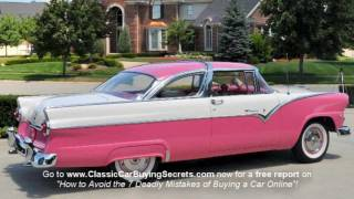 1955 Ford Crown Victoria Classic Muscle Car for Sale in MI Vanguard Motor Sales