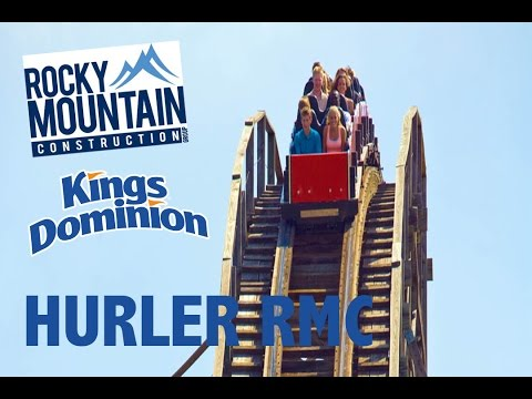 Kings Dominion 2018: RMC Hurler!!!