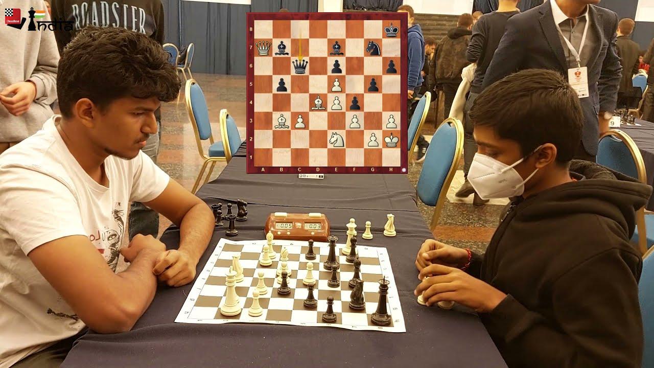 Download Harsha Bharathakoti vs Praggnanandhaa | Yerevan Blitz 2021 Final round | Commentary by Sagar Shah